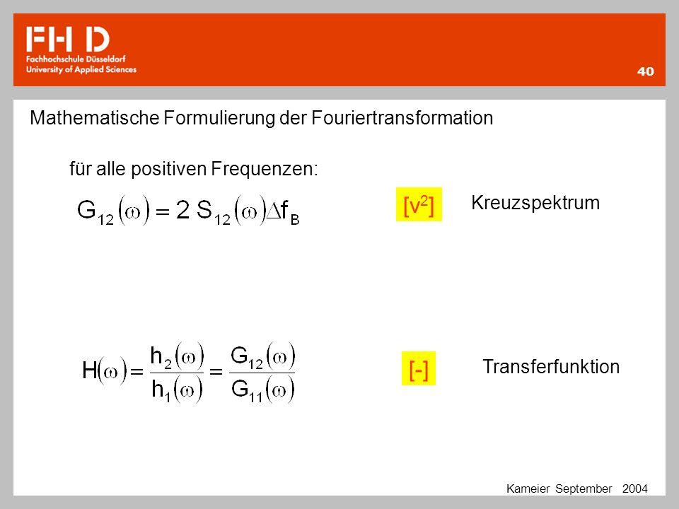 [v2] [-] Mathematische Formulierung der Fouriertransformation